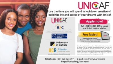 Photo of Entries Open : The Unicaf Scholarship Programme