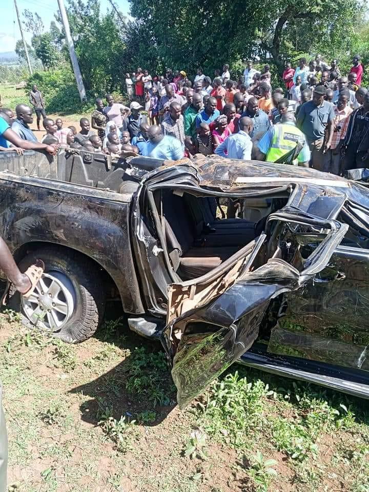 5 Bad Photos From MP Pamela Odhiambo U2019s Road Crash In