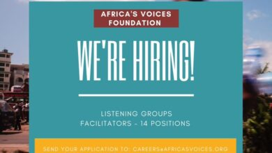 Photo of Africa's Voices Hiring 14 Facilitators