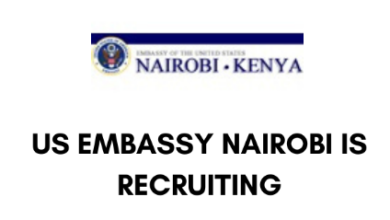 Photo of Job Vacancies Open In US Embassy Nairobi