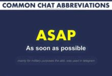 Photo of 20 Interesting Chat Abbreviations You Should Know