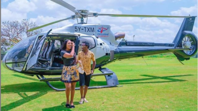 Photo of Kenyan Male Celeb Setting Romance Standards So High Using Choppers