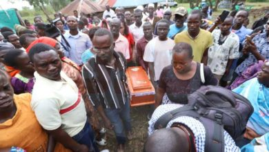 Photo of 7 Strange Dead-Rituals Performed On Sharon Otieno's Infant Before Burial