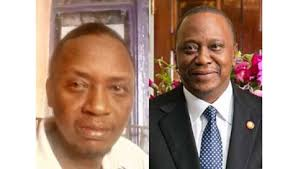Photo of Photos Of Michael  Gitonga Spitting Exact Image Of President Uhuru