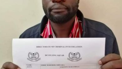 Photo of Former TUK Student Leader Eddie Obwaka Caught By Detectives Extorting 2M Bribe