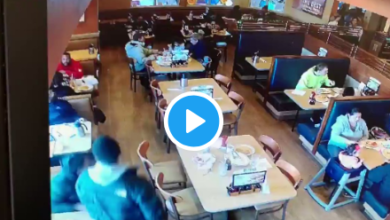 Photo of Terrifying Video Shows Customer Carelessly Open Fire When Two Men Went For Seats Close To Him