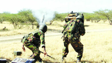 Photo of Rare Video Shows KDF Giving Al Shaabab A Taste Of Their Own Medicine