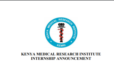 Photo of Paid Internship Opportunity Open At KEMRI