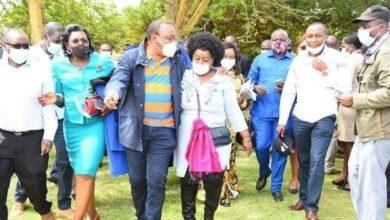 Photo of Chemistry Photos Between President Uhuru And Millie Odhiambo Raises Eye Brows