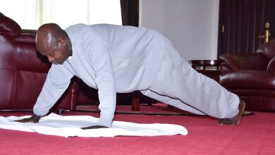 Photo of At 75 Years Old, Museveni Completes Tough Home Exercise Challenge