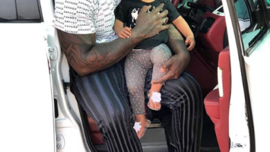 Photo of Photos Of Khaligraphy Jones Balling With Cute Daughter