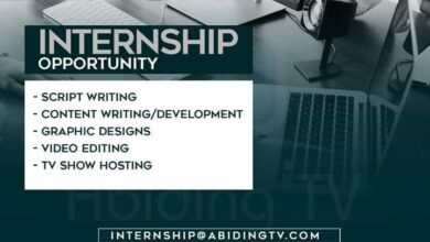 Photo of Internship Opportunity At Abiding Television