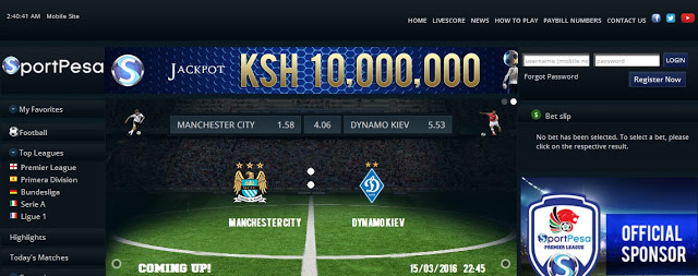 sportpesa betting site in kenya