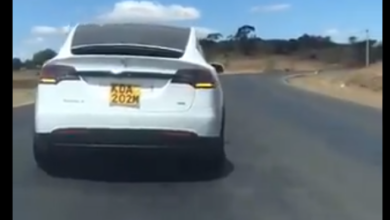 Photo of Kenyans Dedicate Best Memes After 9 Million Tesla Model X Being Towed By Toyota