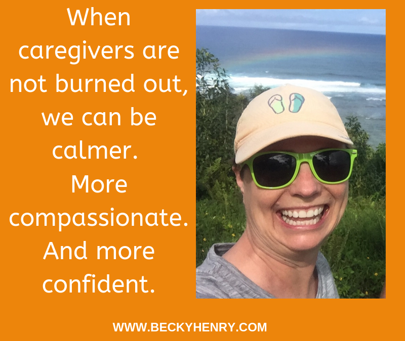 Eating Disorders Caregiver Burnout – Steps to Survival, by Becky Henry, CPCC