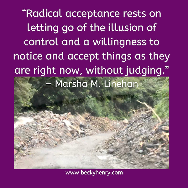 Radical Acceptance for Parents of those with Eating Disorders, by Becky Henry, CPCC