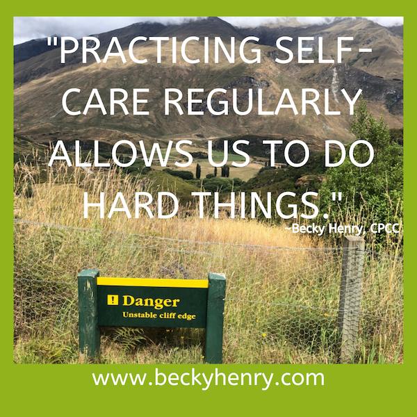 Struggling and Self Compassion