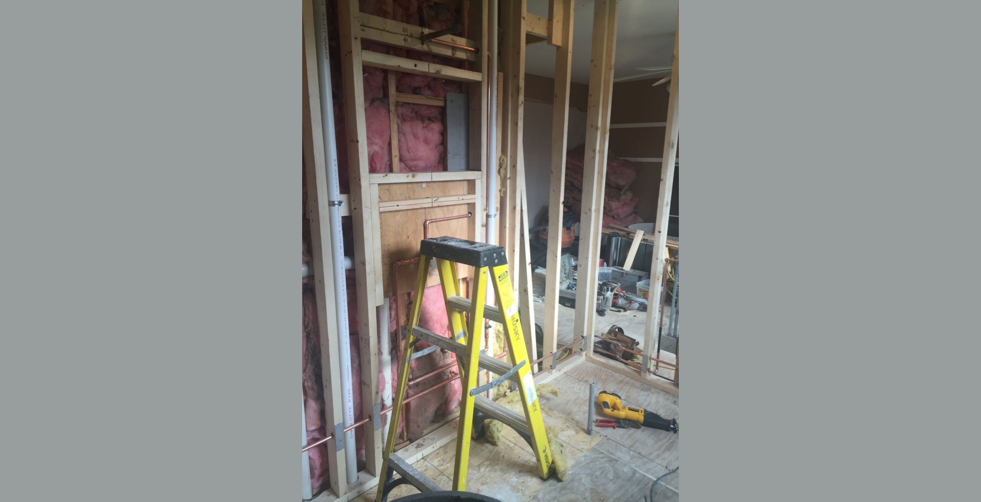 Week 2 bathroom renovation | Sam Kellogg