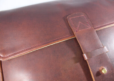 Leather Satchel for NutSac Bags
