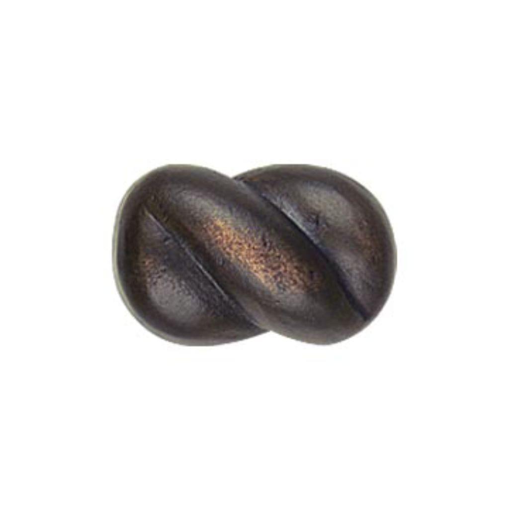 Braid Cabinet Knob Bronze