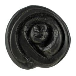 Bud Cabinet Knob Black