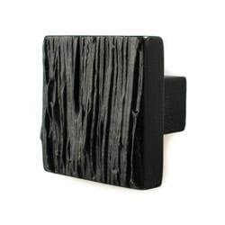 Cabinet Knob Cedar Black