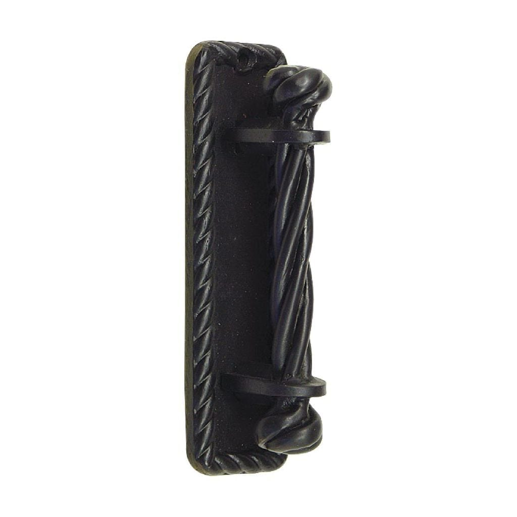 Door Knocker Twist Black