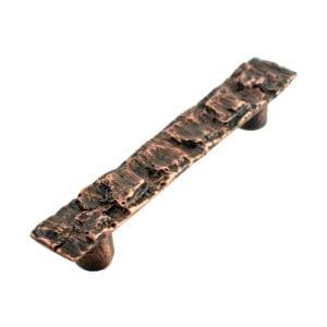 Cabinet Pull Bark Copper