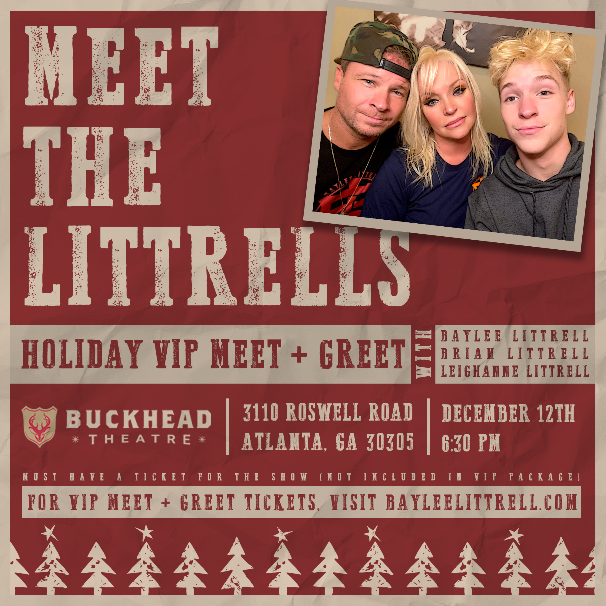 Celebrate the Season with the Littrell's