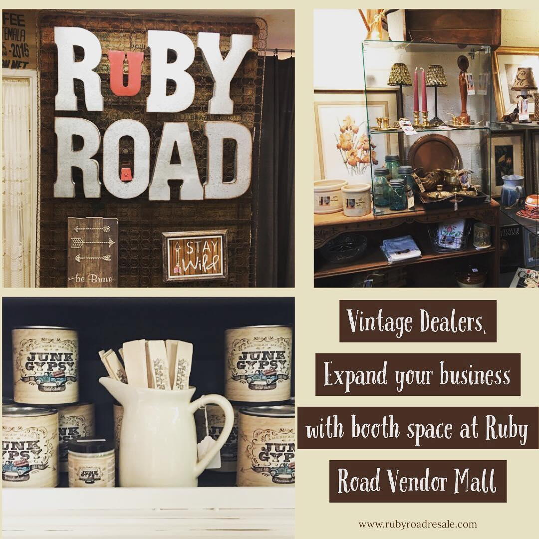 Ruby Road is the Best Vintage Mall in Central AZOpen 7 days a week & professio...