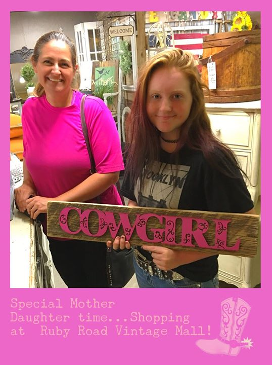 Naysa was in recently with her mom. She found a treasure for her room! We love i...