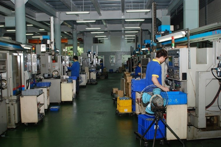 factory of Unison Tek Co Ltd