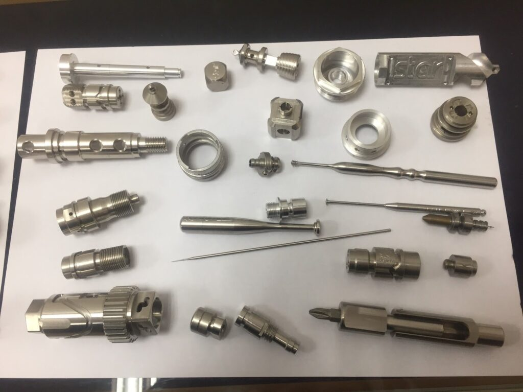 Unisontek CNC precision metal parts 1