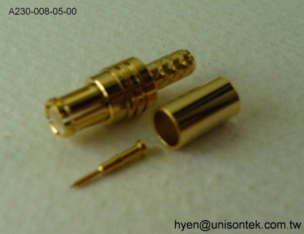 MCX009-PLUG for RG174 connector