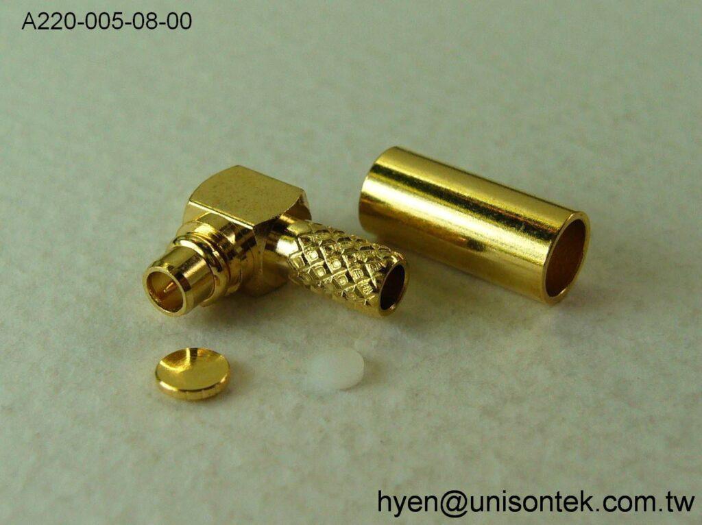 MMCX015-RA PLUG for RG316 connector