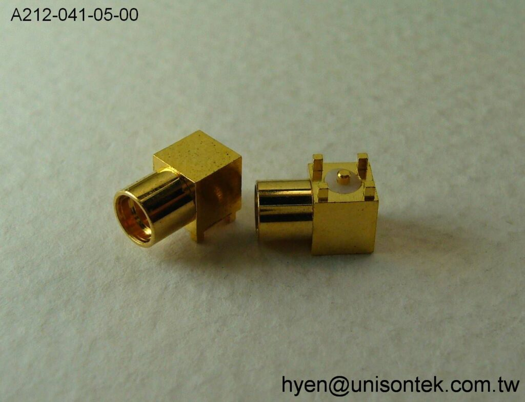 MMCX017-RA JACK for PCB Mount connector
