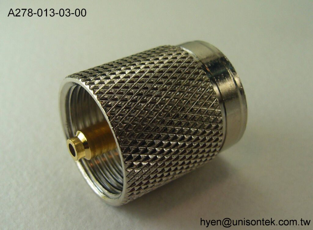 UHF002-PLUG for 15.50MM connector