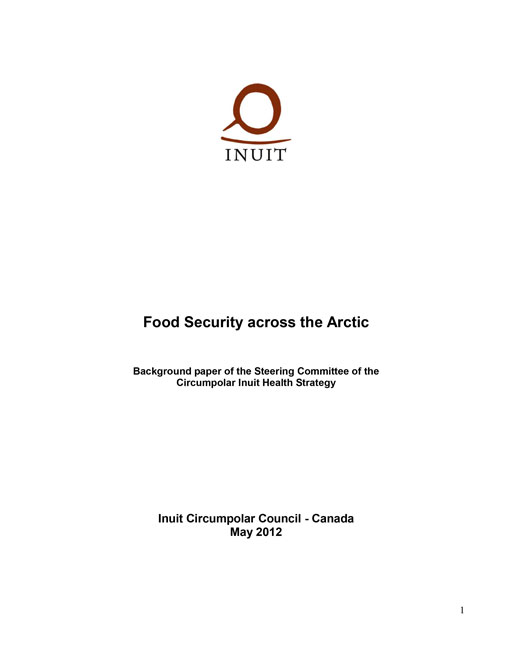 Food Security Across the Arctic