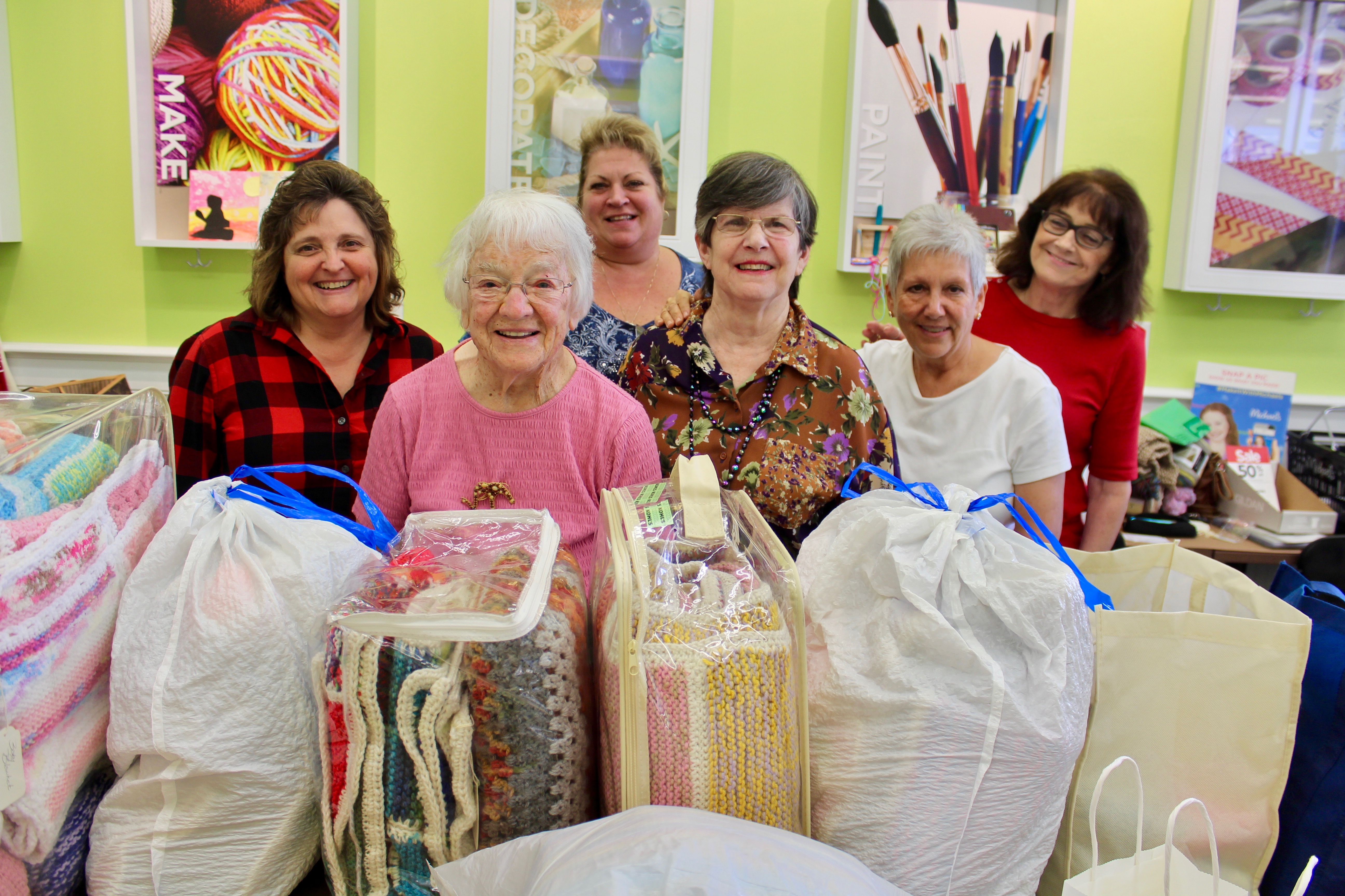 Michael's Knitters Donation Story