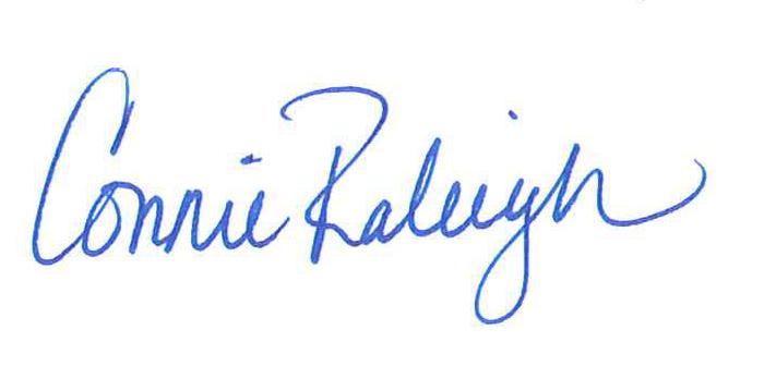 connie signature