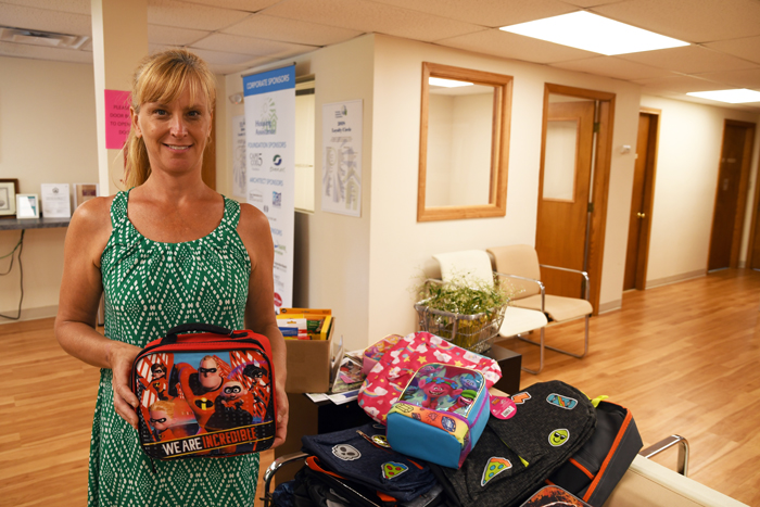 Our Lady of Victory's 2019 back-to-school drive for Housing Assistance clients.