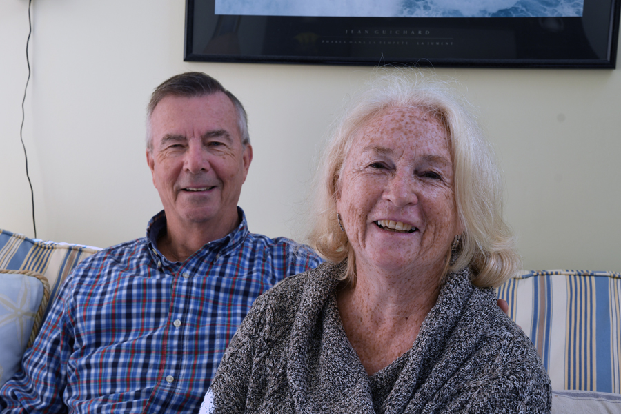 John and Dot DeYoung, Housing Assistance donors and volunteers.