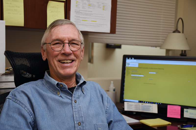 David Fuller, new manager of Housing Assistance's Energy Department