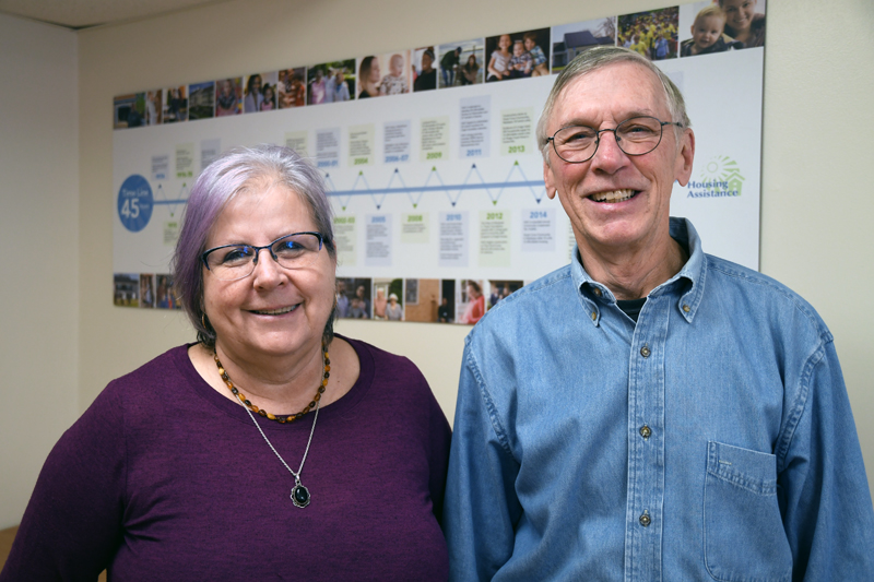Ruth Bechtold and David Fuller