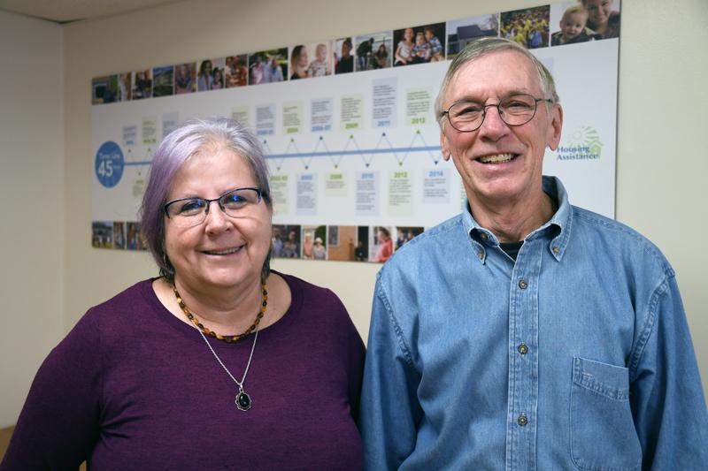 Ruth Bechtold and David Fuller
