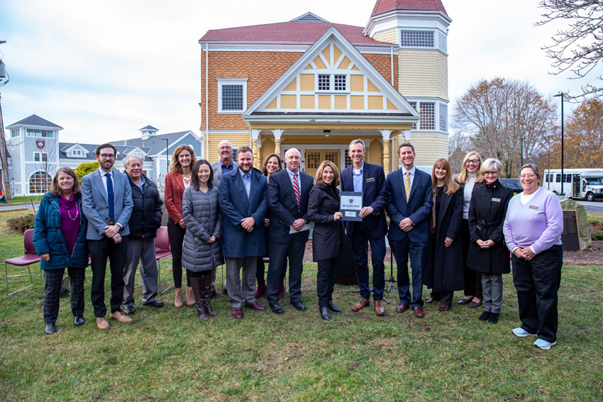 MassWorks Grant announcement for Brewster Woods