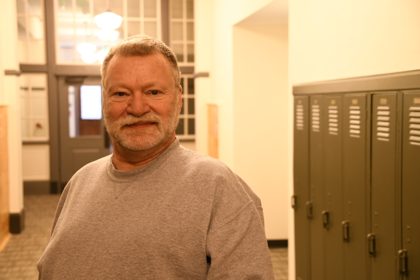 Housing Assistance volunteer Robert Evers