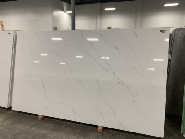 Calacatta Quartz Stock$55 per Sq Ft Installed