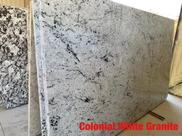 Colonial White Granite 3cm$47 per Sq Ft Installed