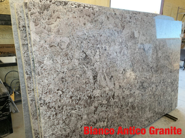 Bianco Antico Granite 3cm$47 per Sq Ft Installed